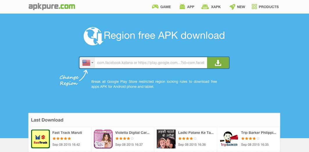 Region free APK download daily update apps and games